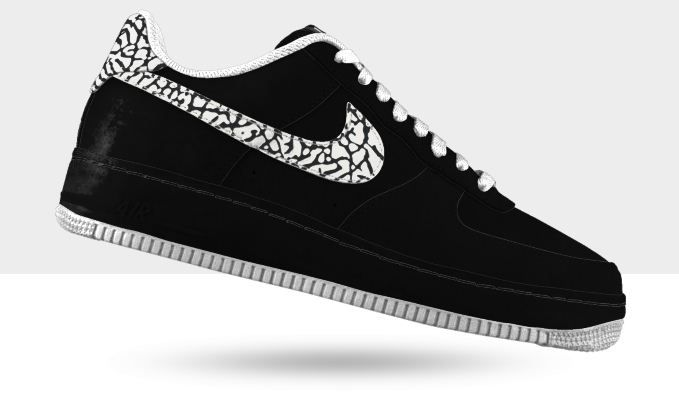 Nike Air force 1 low premium Id | Sneakers | Nike air force