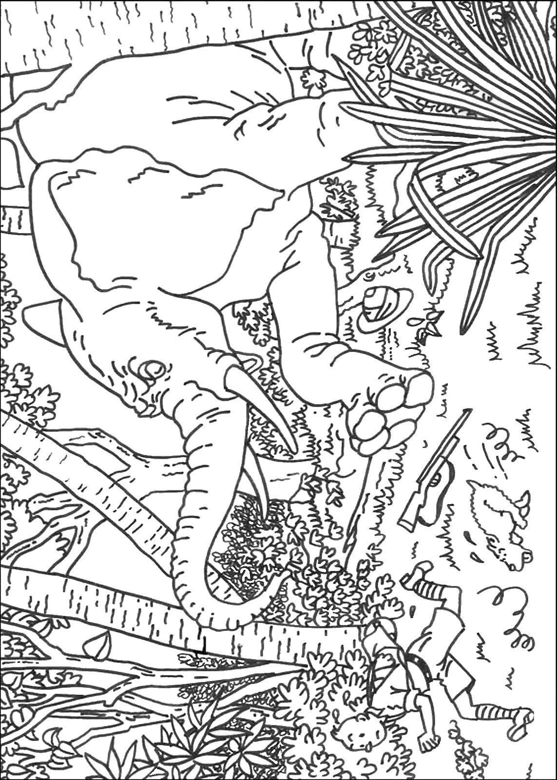 20 The Adventures Of Tintin Pictures To Print And Color Kuifje Kleurplaten Stripfiguren