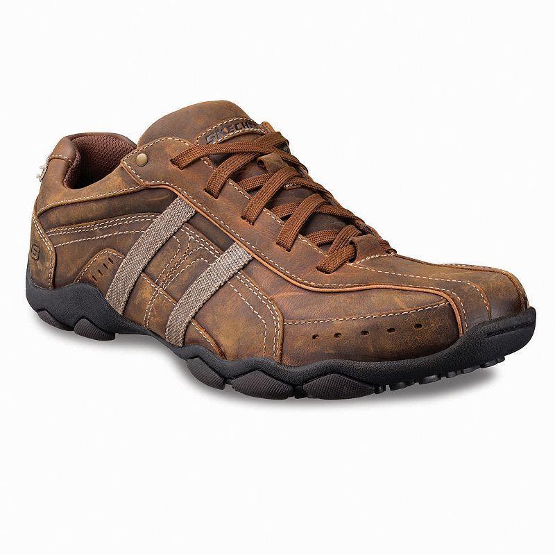 Skechers Murilo Men Dark Brown Oxford Shoes