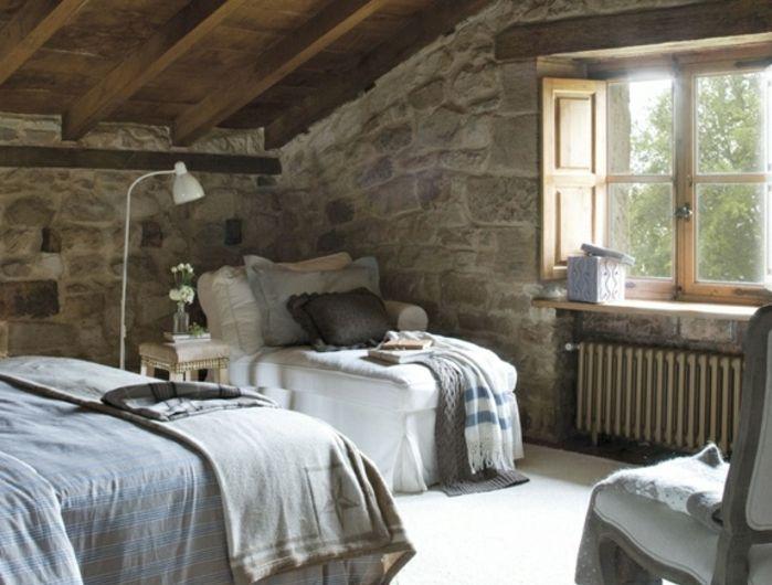 ▷1001+ idées déco de chambre sous pente cocoon | Chambres rustiques ...
