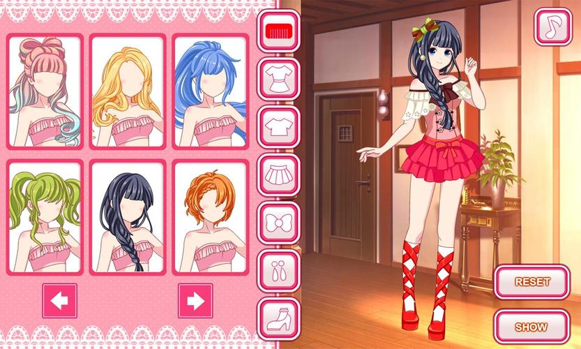Anime dress up game for Android APK Download in 2020