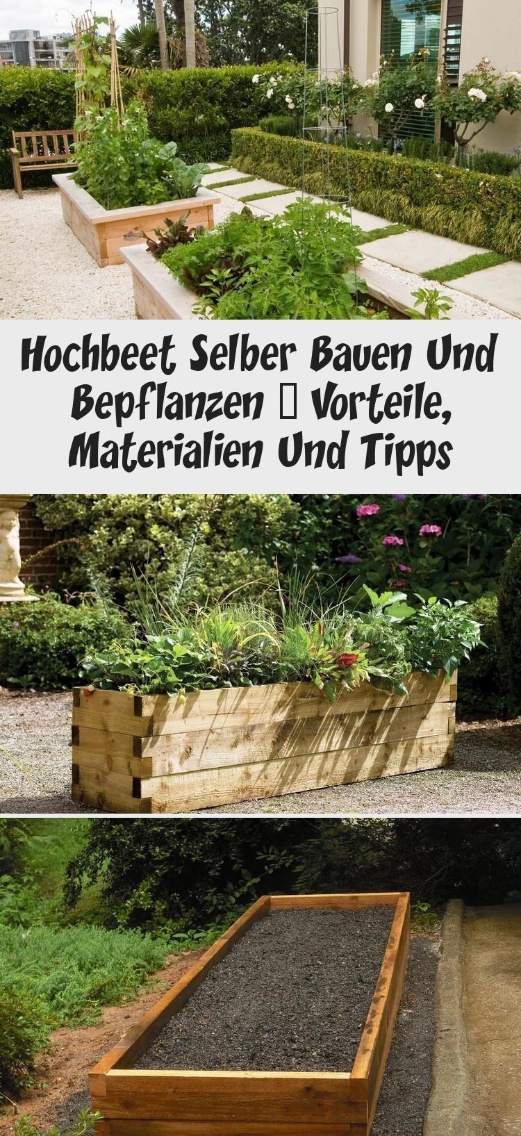 Gartenhochbett Zum Bauen Und Pflanzen Vorteile Materialien Und Tipps In 2020 Hochbeet Selber Bauen Bepflanzung Hochbeet