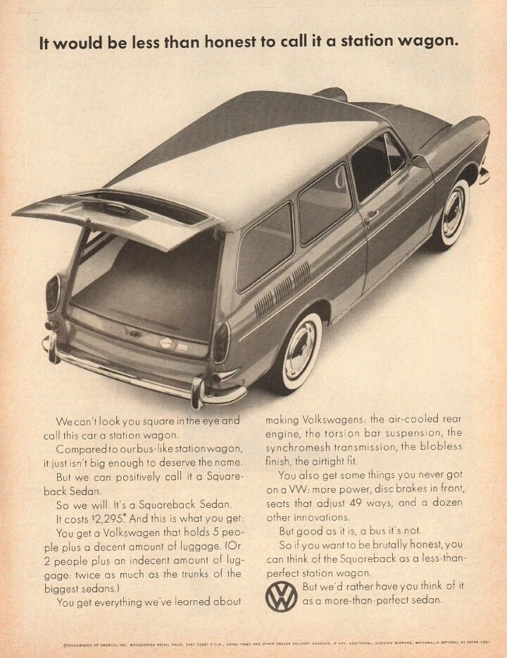 1965 volkswagen squareback wagon