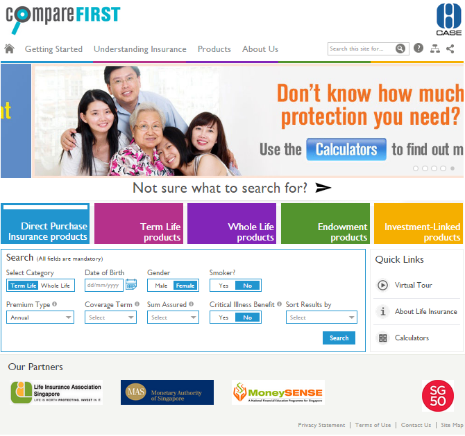 Comparefirst Review Singapore S First Industry Backed Life Insurance Web Aggregator Insurance Life How To Find Out