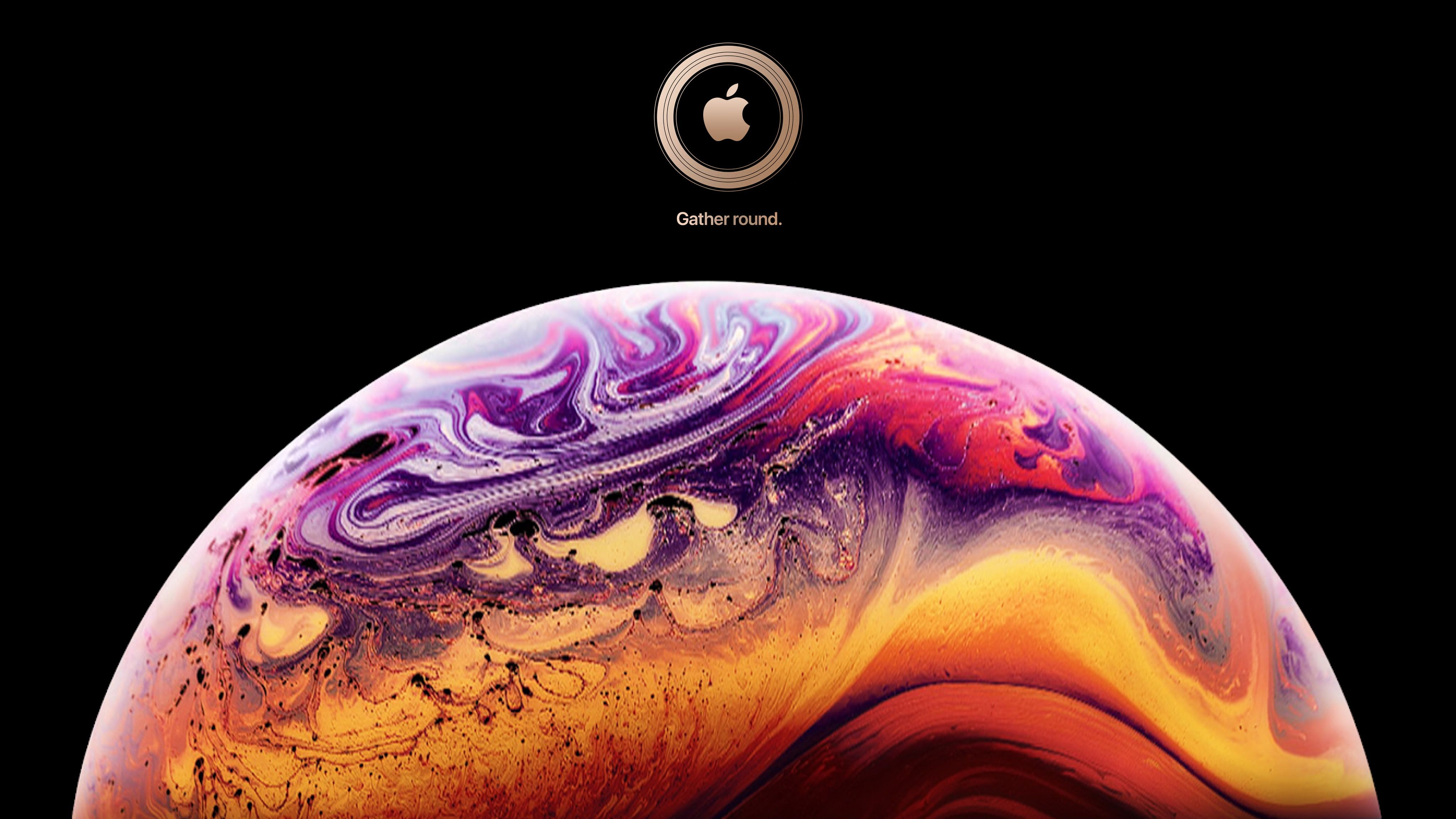 Iphone Xs Official Launch Event 4k Official Iphone Launch Event 4k Wallpaper Hdwallpaper Desktop Iphone Hacks Iphone Wallpaper Gold Wallpaper Iphone