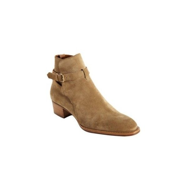 Saint Laurent Wyatt Ankle Boot ❤ liked on Polyvore featuring shoes, boots, ankle booties, yves saint laurent boots, yves saint laurent, ankle boots, short boots and bootie boots