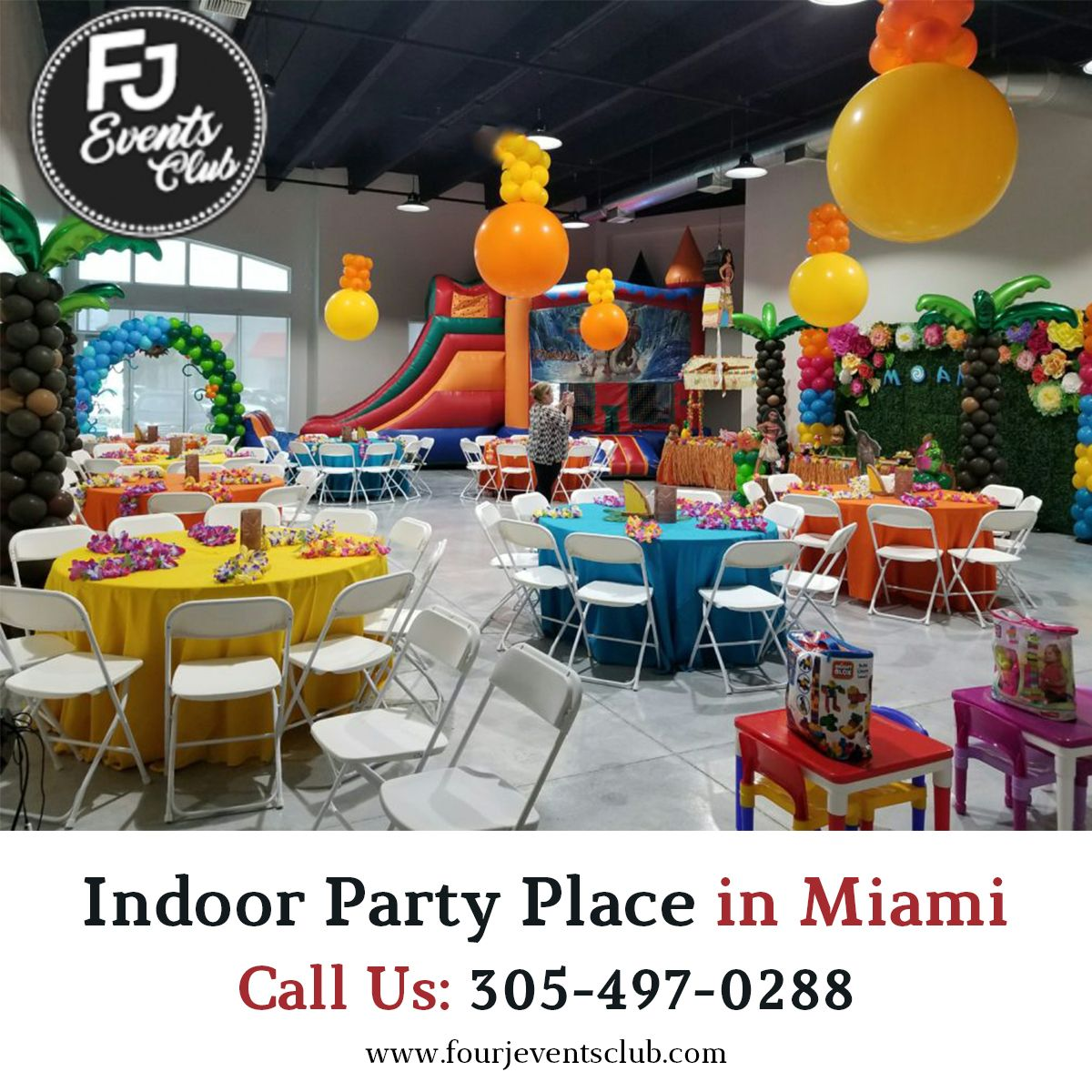 Indoor Party Place in Miami in 2020 Kids birthday party