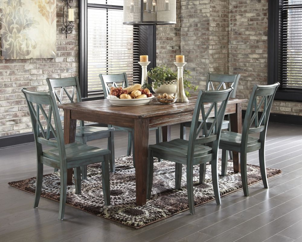 Ashley D540 Mestler 7Pc Dining Set A Perfect Fit For A Mestler Inspiration Ashley Dining Room Table Set Inspiration Design