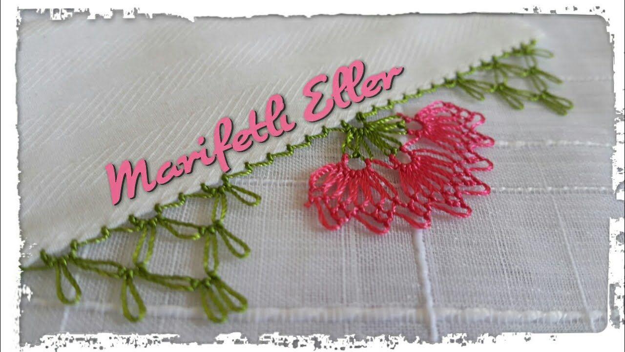 Lavanta Çiçeği İğne Oyası Modeli Tarifi