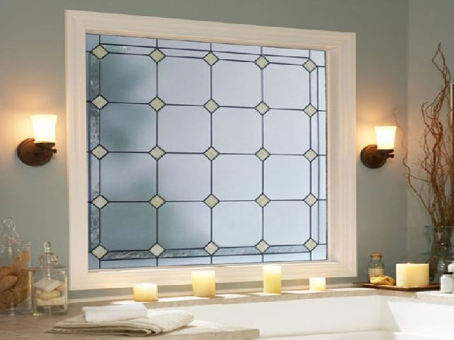 Bathroom Window Privacy Ideas Design And More Regain Your Amp Natural Light  This Treatment