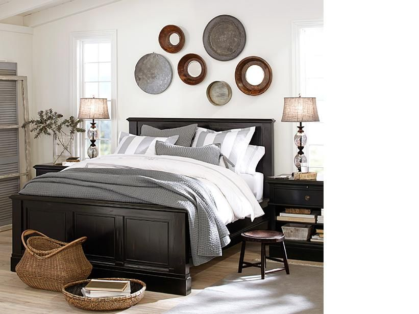 Bedroom Furniture Pottery Barn Pick Sch Quilt Sham Branford Bed Bedside Table Pb On
