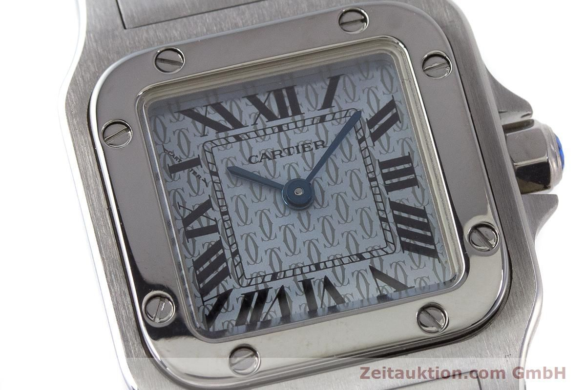 Cartier Santos Galbee Damenuhr Aus Edelstahl