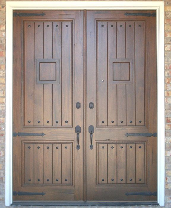 Strap hinges rustic strap hinges decorative hinges and for Rustic exterior doors