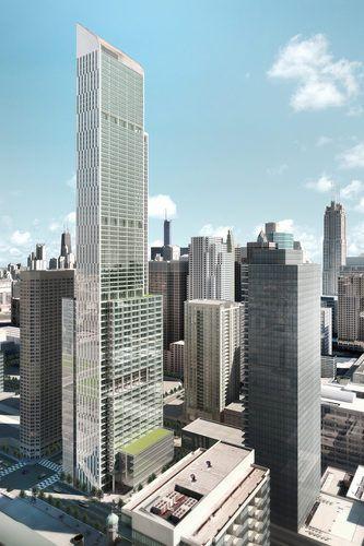 New Renderings For Long Planned West Loop Tower Surface