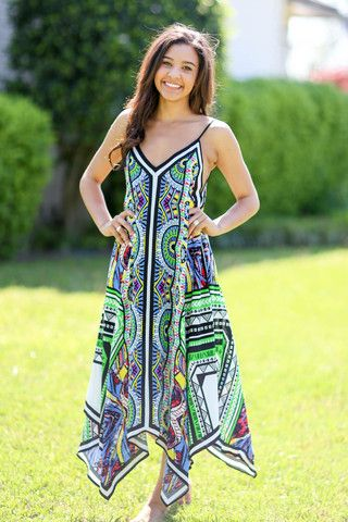 Piece of Love Scarf Maxi Dress – Hazel & Olive