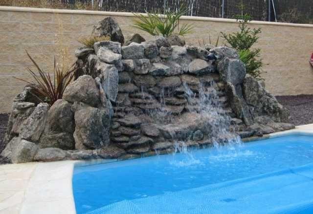 fuentes y cascadas estanques cascadas lagos artificiales tweet