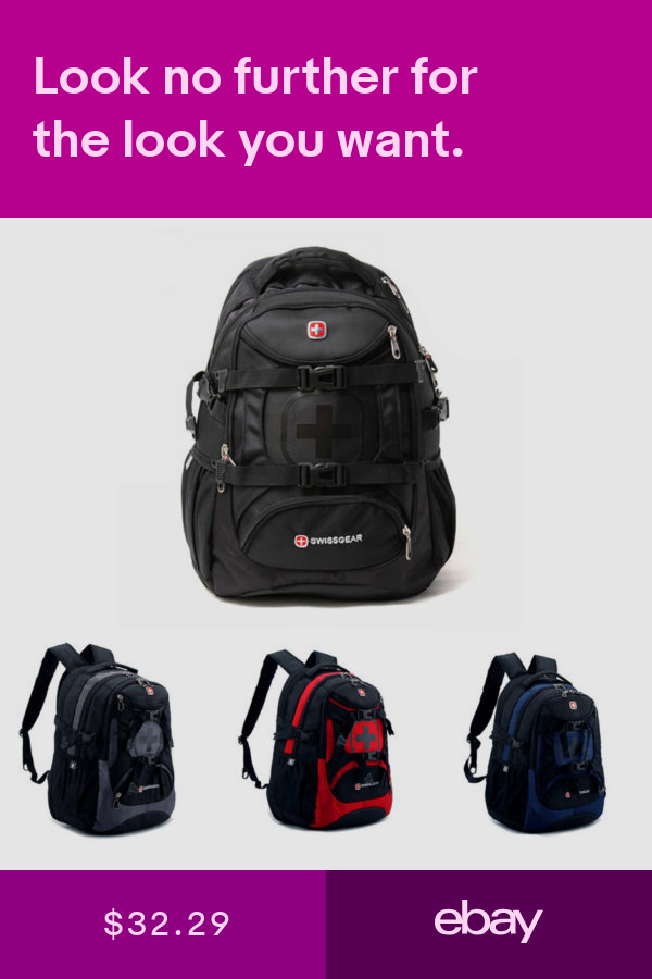 Swiss Student Shoulder Bag Men Women Backpack Leisure Travel Bag School Bag