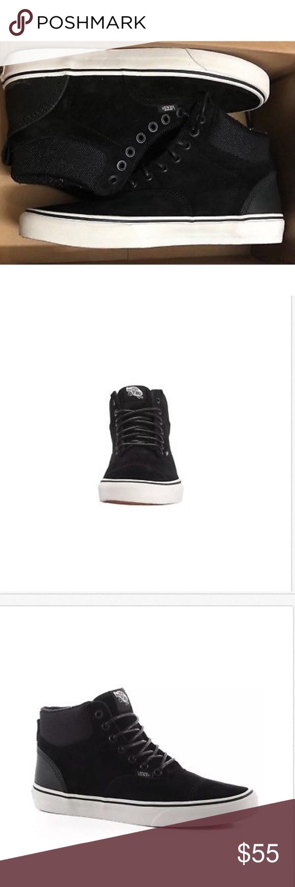 a669affea0a530 Vans Era Hi Pig Suede Nylon Black Blanc De Blanc Vans Era Hi Pig Suede  Nylon Black Blanc De Blanc Mens Size 11 Brand new in box Vans Shoes  Athletic Shoes