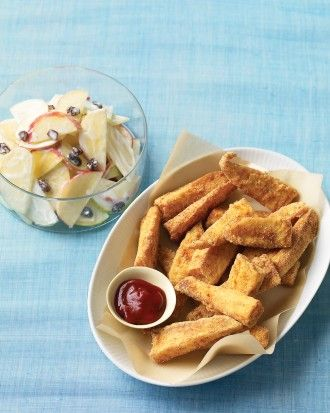 """See the """"Cornmeal-Crusted Fish Sticks"""" in our  gallery"""