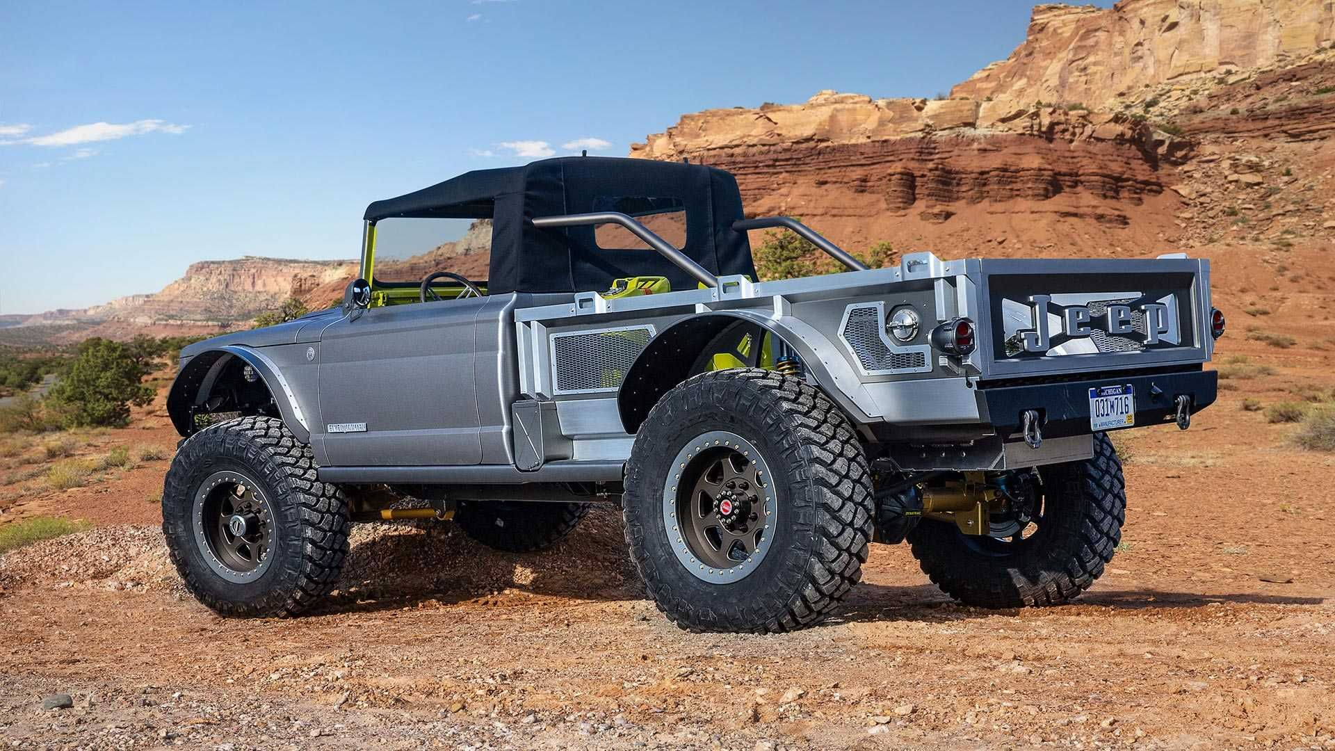 As A Super Truck The Jeep Gladiator M715 Five Quarter Is Blast