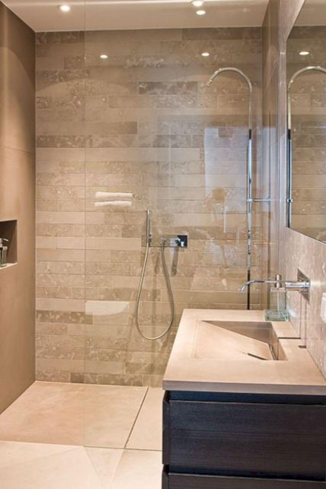 Cool 24 Astonishing Bathroom Shower Design Ideas For Simple