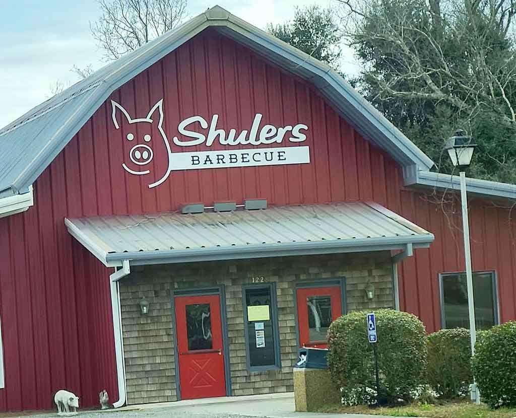 Shuler S Barbecue In Lake City In 2021 Sisters Restaurant Bbq Restaurant Lake City