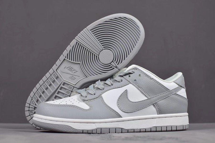 Gray nike shoes, Nike dunks