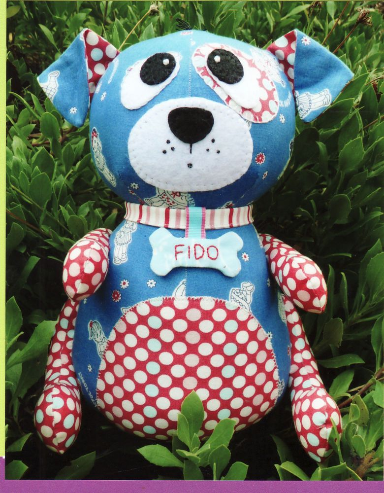 Melly and Me, Fido Artist Doll Pattern | Pinterest