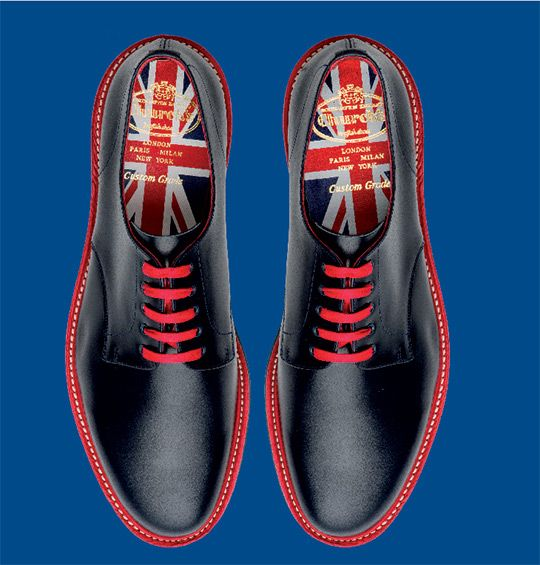 Church's Stratford shoes for London Olympics - 17 versions available.