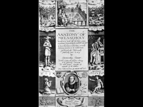 An excerpt from the third edition (1628) of Robert Burton\'s treatise ...