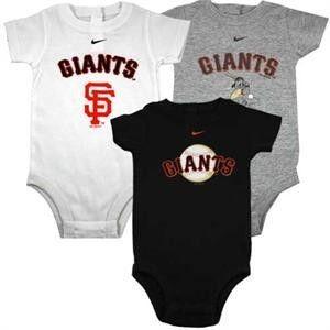 6-9 Months San Francisco 49ers 3pc Creeper Set Tiny Fan Infant Baby