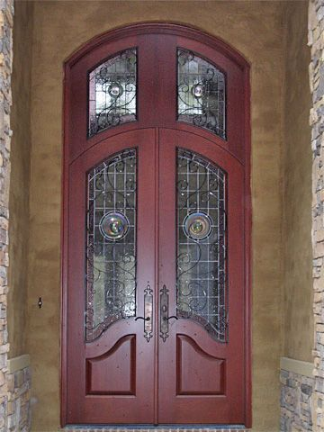Custom French Country Doors And Transom Entry Doors By Decora Wood Front Entry Doors Exterior Wood Entry Doors French Doors Exterior