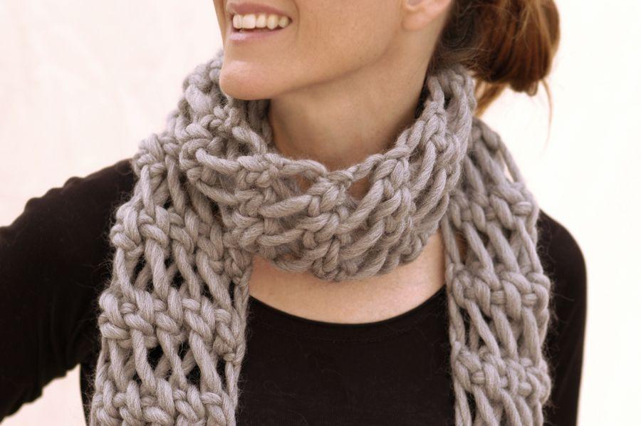 The misti net scarf chunky taupe scarf knit 1 la note the the misti net scarf chunky taupe scarf knit 1 la note the dt1010fo