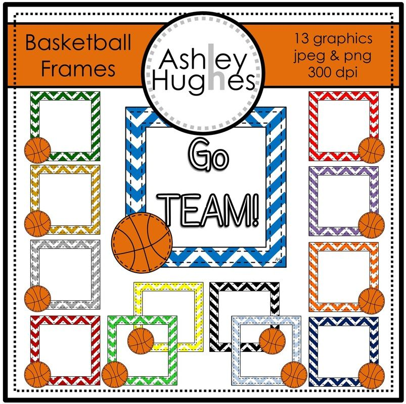 Picture | Basketball Theme | Pinterest | Free frames, Literacy and ...