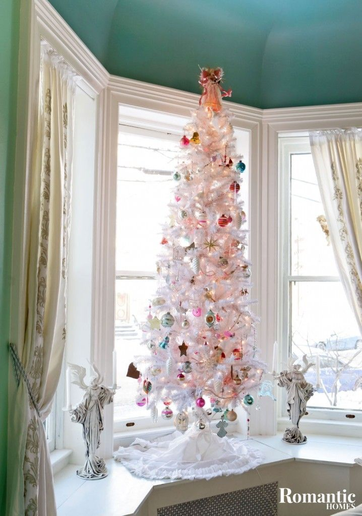 15+ Romantic Christmas Tree Ideas for Your Home | Christmas tree ...