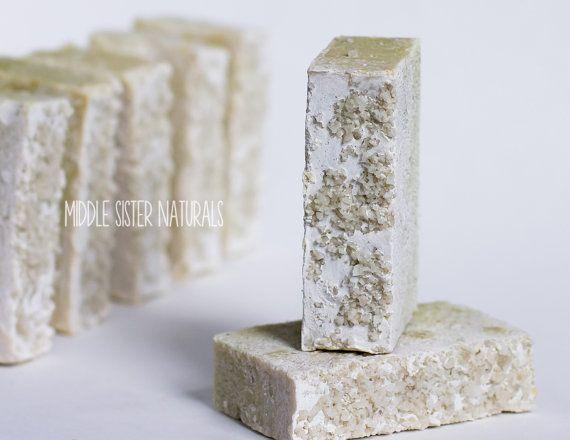 Spa Bars  Sea Salt Soap by MiddleSisterNaturals on Etsy