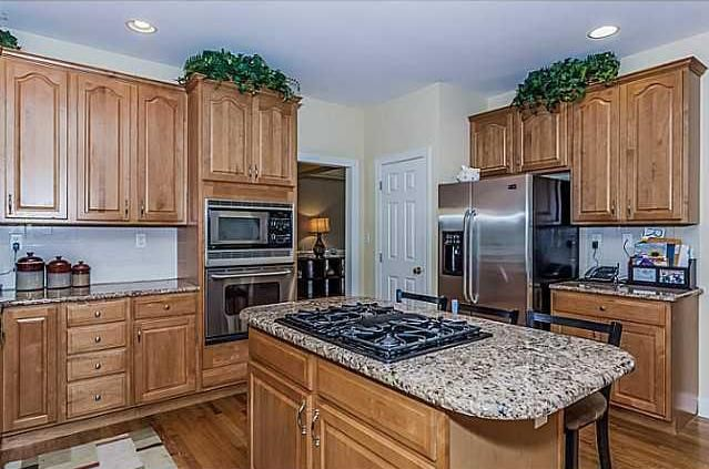 257 Paxton Way in Glastonbury, CT.  Absolutely beautifully updated eat-in kitchen with a huge island.