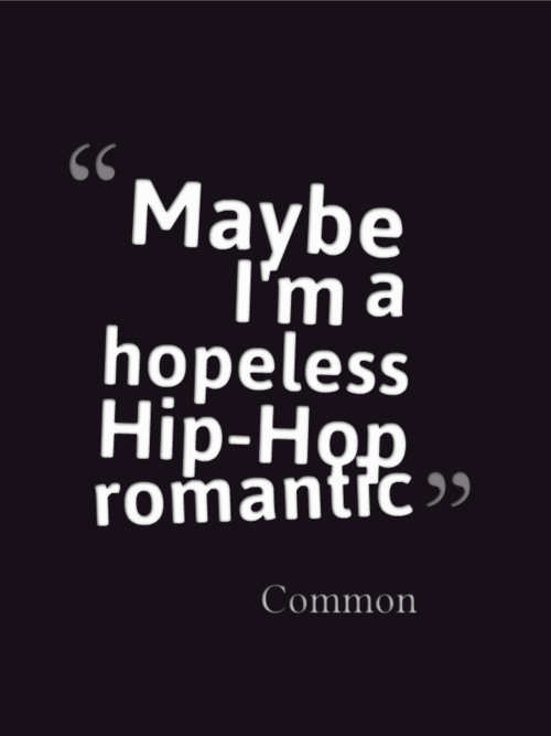 Romantic rap lyrics