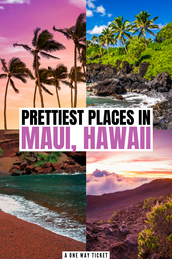 Maui is one of Hawaii's best islands. The island of Maui is full of stunning beaches, wonderful experiences, and beautiful views. Click here to see all the prettiest places to visit in Maui! #mauihawaii #hawaiitravel #visitusa | what to do in maui | maui must do | visit hawaii | maui hawaii vacation | maui hawaii honeymoon | best things to do in maui | things to do maui | maui vacation tips | maui hawaii beaches | road to hana maui | maui secrets | maui itinerary | travel maui