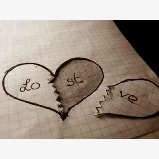 Pictures Of Heart Drawings | Free download on ClipArtMag |Cute Love Broken Heart Drawing