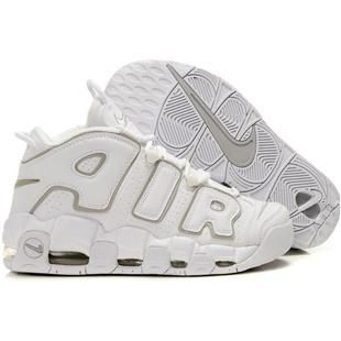 Nike Air More Uptempo Scottie Pippen Shoes White Grey Sport  1f1eff8a0