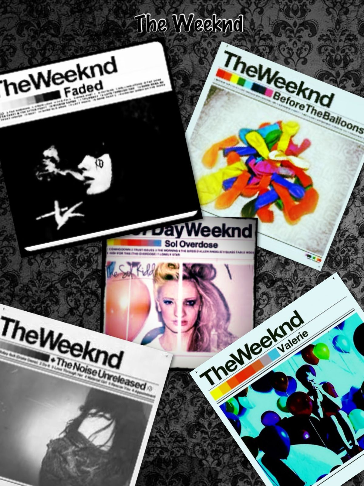 the weeknd the noise mixtape
