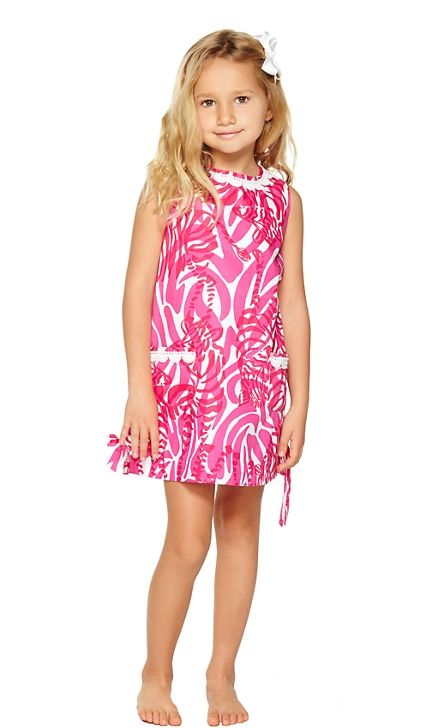 91f18a680 Lilly Pulitzer Girls Little Lilly Classic Shift Dress