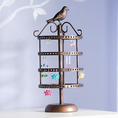 Jewelry tree birdhouse jcpenney for 32 cute home Jcpenney home decor