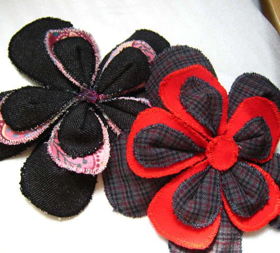 10 DIY Fabric Flower Projects!