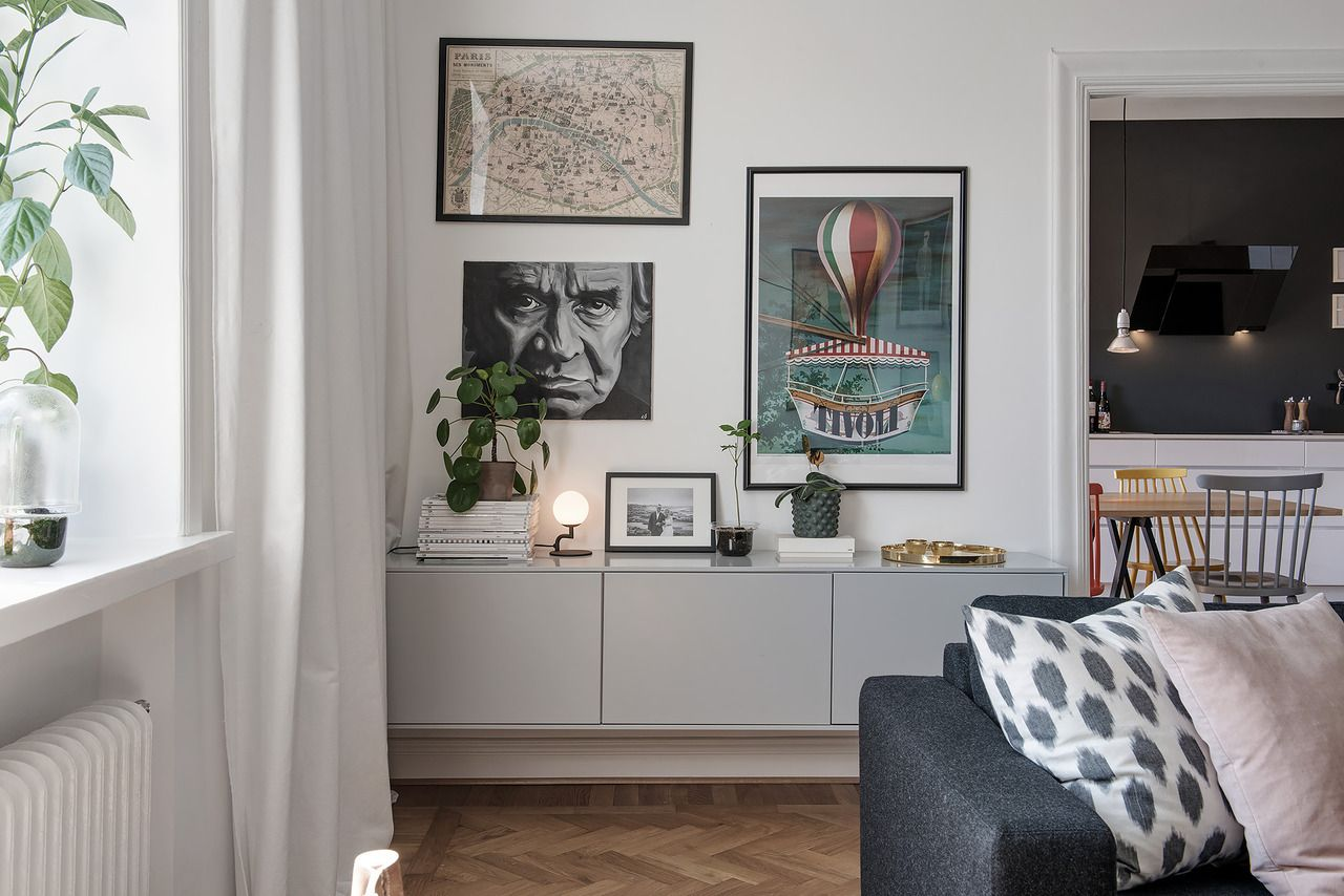 Lisasansmona Modern Eclectic Goteborg Sweden Layout In