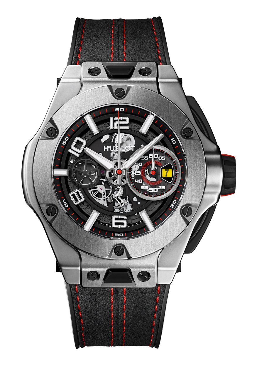 hublot big bang ferrari update live bilder. Black Bedroom Furniture Sets. Home Design Ideas