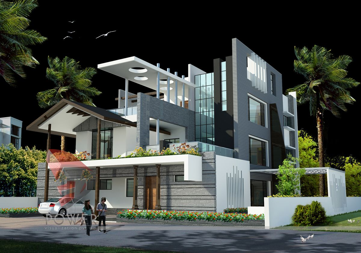 We Are Expert In Designing 3d Ultra Modern Home Designs Bungalow House Design Modern Architecture Building Modern House Design