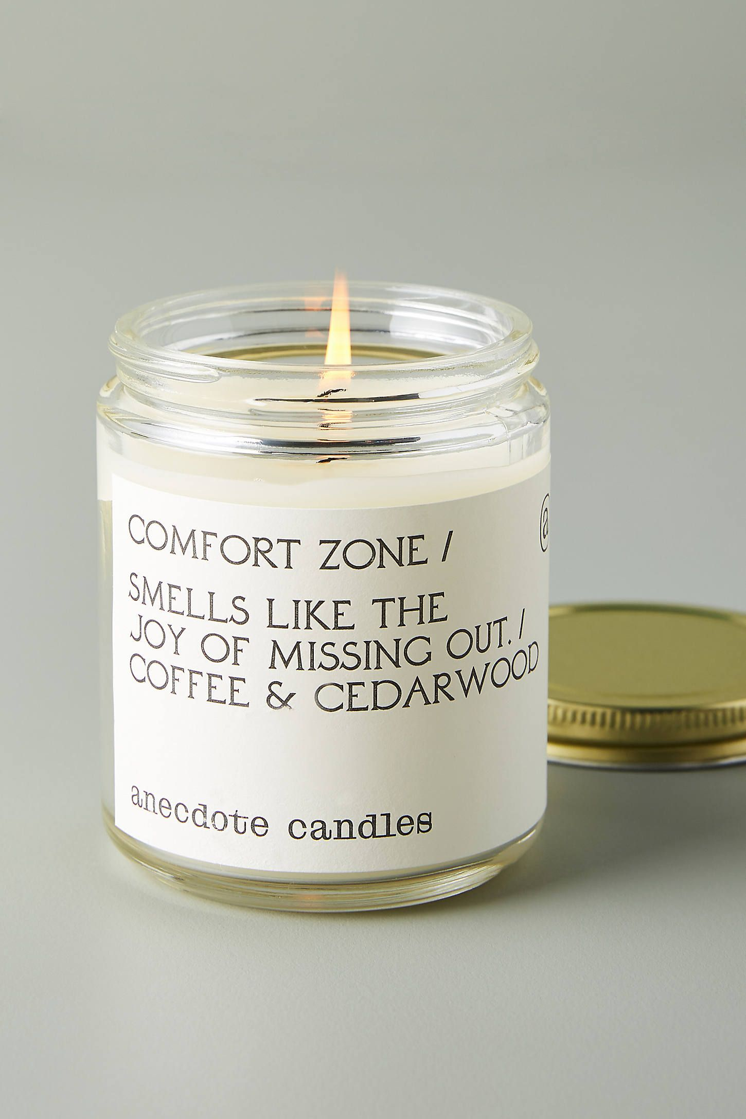Anecdote Winter Comfort Glass Candle By Anthropologie In Beige Candles In 2020 Candles Glass Candle Apothecary Decor