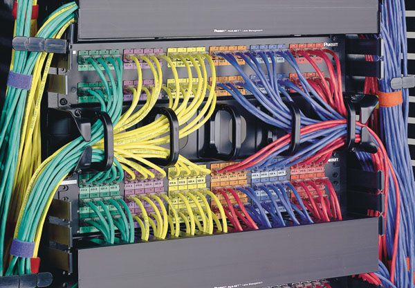 Structured wiring is a whole house wiring system for communications ...